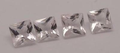 ***0.89Ct Natural Quality Loose Morganite Square Cut Gemstones**