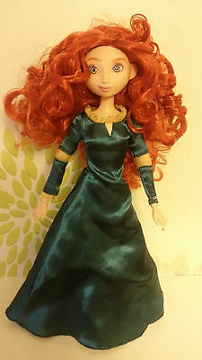 "**Disney Store Brave Princess Merida First Original Classic 12"" Fashion Doll**"