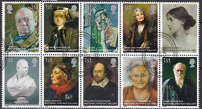 Gb 2006 National Gallery Block Of 10 (22) Used