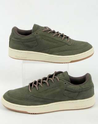 Reebok Club C 85 WP Trainers in Hunter Green - ltd edition Wheat Pack -  Classic 399e64045