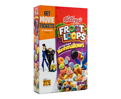 Kellogg's Froot Loops Marshmallow Cereal 357g