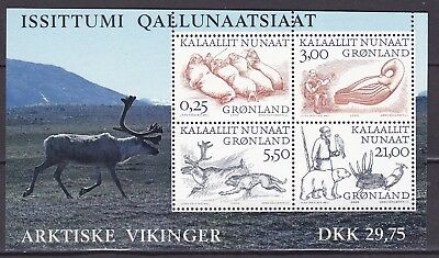 Greenland 2000 Vikings S/s 2 (36) Mint Never Hinged