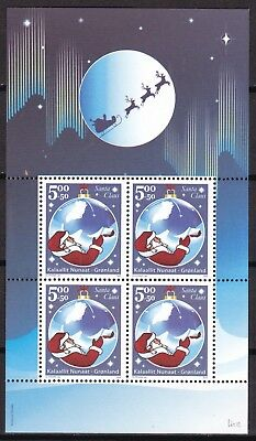 Greenland 2003 Santa Claus S/s  (41) Mint Never Hinged