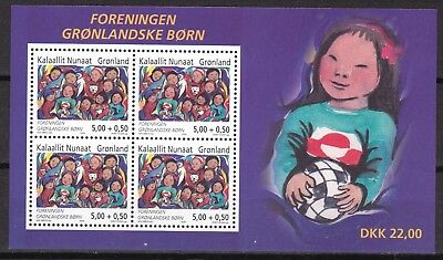 Greenland 2004 Children S/s  (43) Mint Never Hinged