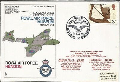 Arcade 50p A Nice 1972 Multi Flown Opening of RAF Museum Cover