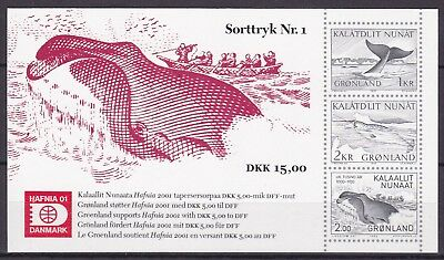 Greenland 2001 Hafnia S/s  (48) Mint Never Hinged