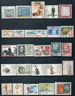PORTUGAL - Mixed lot of 26 Stamps, most Good - Fine Used or CTO, LH