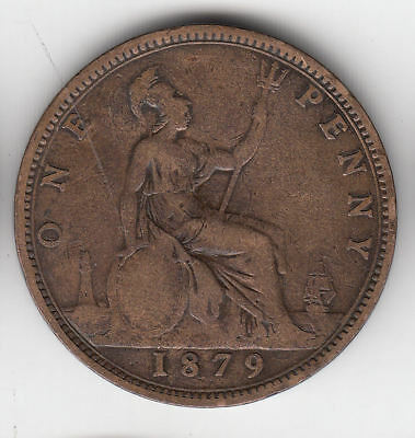 Gb 1D 1879 Victoria             110A       By Coinmountain