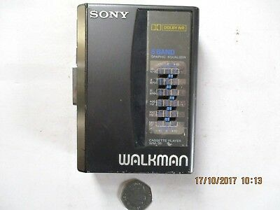 Sony Walkman Cassette Player Wm-36 For Spares / Repairs