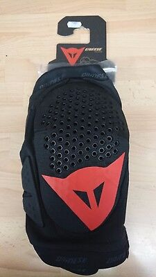 Dainese Trail Skins Knee Pads Guards MTB Dirt Jump Black/Red XL