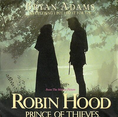 """BRYAN ADAMS - ( EVERYTHING I DO ) I DO IT FOR YOU - PS - 90's - 7"""" VINYL"""
