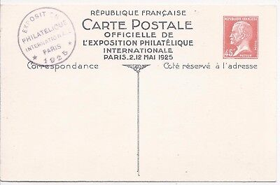 France 1925 45c Pasteur Paris Stamp Expo illustrated card cto used