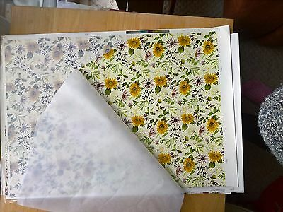Ceramic Waterslide Transfer Sheet Sunflower Meadow