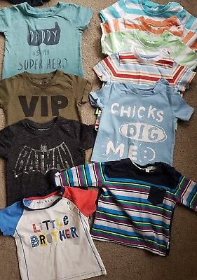 Baby Boys 3-6 Months Clothes Bundle  Next F&F nutmeg ted baker