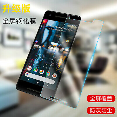9H Premium Tempered Glass Screen Protector Film For Google Pixel 2/2 XL NEW
