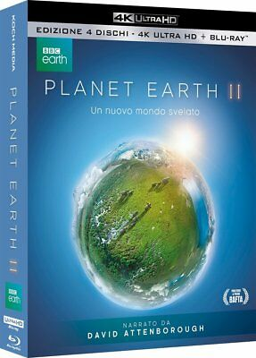 Planet Earth Ii  Blu-Ray 4K+Blu-Ray  Cofanetto  Natura