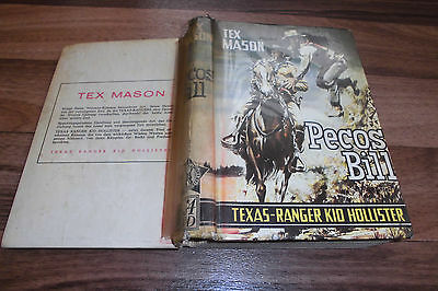 Tex Mason -- PECOS BILL // mit TEXAS-RANGER KID HOLLISTER / Astoria ca 1950er
