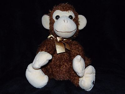 Russ Shining Stars Monkey Soft Toy Brown Comforter Doudou