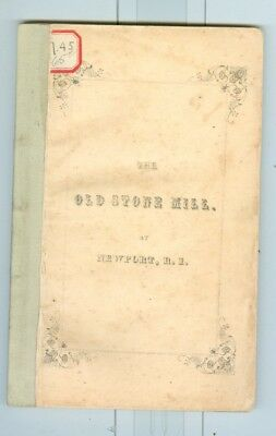 1851 Controversy of Old Stone Mill Newport, Rhode Island