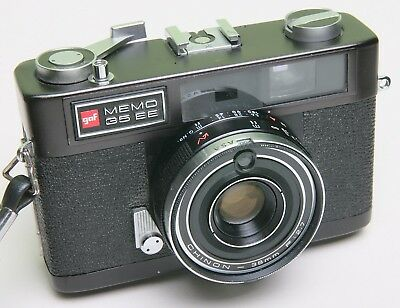 Gaf 'memo 35 Ee' Rangefinder Film Camera With Fast Chinon Lens