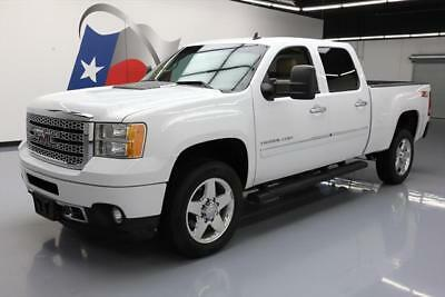 2013 GMC Sierra 2500 Denali Crew Cab Pickup 4-Door 2013 GMC SIERRA 2500 DENALI HD CREW Z71 4X4 6.0L V8 55K #116426 Texas Direct