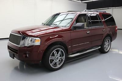 2012 Ford Expedition King Ranch Sport Utility 4-Door 2012 FORD EXPEDITION XLT 8-PASS LEATHER NAV 22'S 49K MI #F51781 Texas Direct