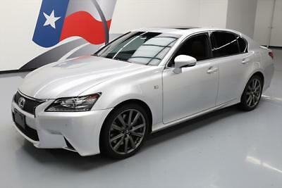 2014 Lexus GS Base Sedan 4-Door 2014 LEXUS GS350 F SPORT CLIMATE SEATS SUNROOF NAV 23K #034457 Texas Direct Auto