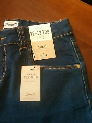 Brand New Girls Skinny Jeans Age 12-13 Years