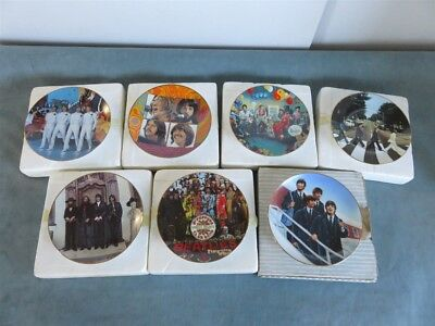 The Beatles Bradford Exchange Collector Plates Lot of 7 Lot #1