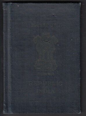 Passport - India Issued Bangalore 1952 Several Renewals
