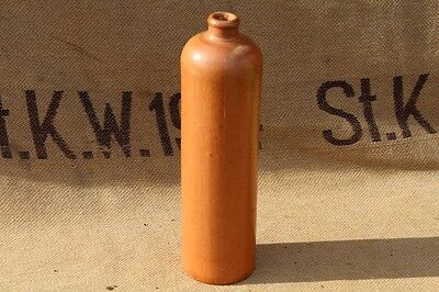 WW2 German Army Gas Mask tester terracota bottle with stamp, very rare