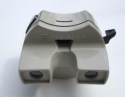 VERY RARE Model 12 Belgium made LIGHTED ViewMaster SPACE Viewer MINT Condition