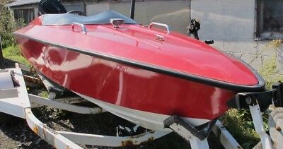 Power Boat Speedboat Marshan 19Ft Boat Only Ready To Go In Water.
