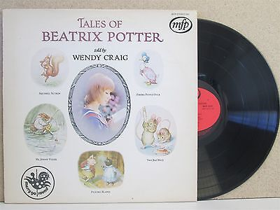 TALES OF BEATRIX POTTER- Wendy Craig Reads LP Squirrel Nutkin/Jemima Puddle Duck