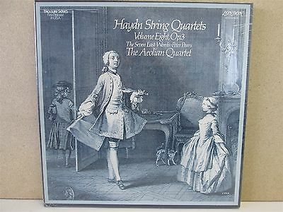 Aeolian String Quartet HAYDN Quartets 3-LP/Last Words London STS 15459-61 SEALED