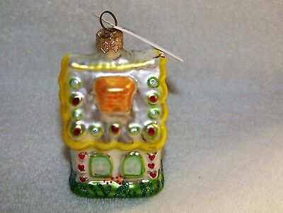 CHRISTOPHER RADKO [ Sugar Shack  Candy House Ornament ] 1993