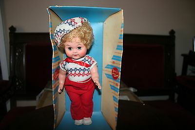 "VINTAGE K.B. DOLL CORP BARBARA JO CREATIONS""  DOLL in ORIGINAL BOX  VERY COOL!"