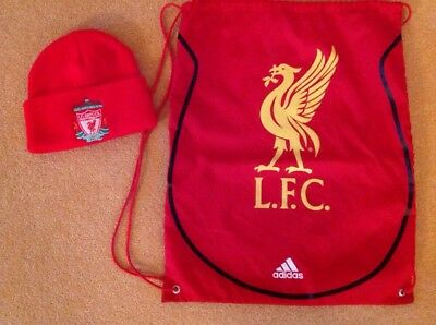 bnwt red Liverpool supporters wool hat