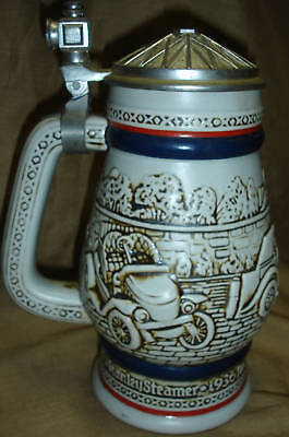 Vintage AVON Antique CAR Lidded Beer STEIN