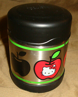 SANRIO Plastic Metal Thermos HELLO KITTY Apple