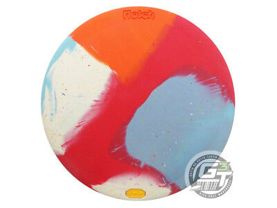 USED Vibram X-Link Firm Notch 174g Multi Color Marble Fairway Driver Golf Disc