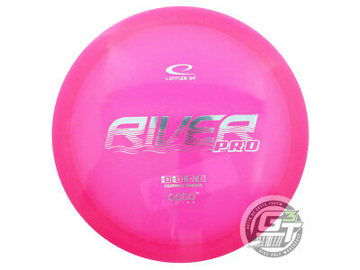 USED Latitude 64 Opto River Pro 172g Pink Silver Foil Fairway Driver Golf Disc