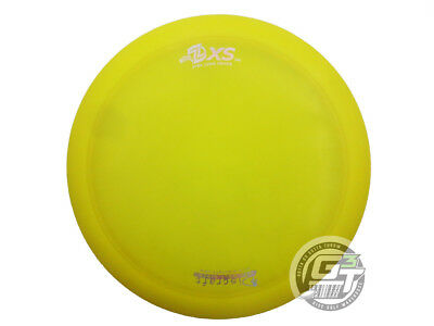 USED Discraft Elite Z XS 171g Yellow Holo Foil RARE OOP Driver Golf Disc
