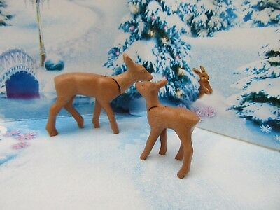 Playmobil Mother And Baby Deer