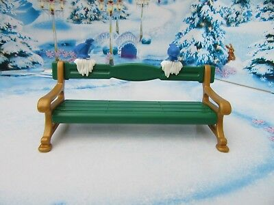 Playmobil Winter Victorian Style Park Bench