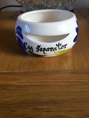Vintage Kitsch Toni Raymond. Egg Separator. Hand Painted. Excellent Condition