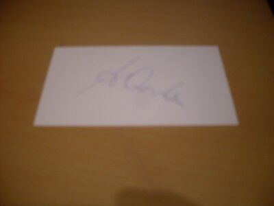 signed card of chelsea manager antonio conte