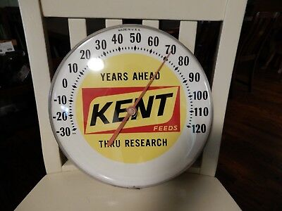 Vintage Kent Feed Thermometer