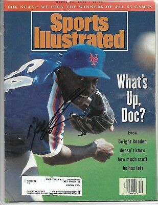 Doc Gooden Autographed 1993 Sports Illustrated Magazine