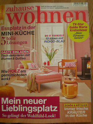 zeitschrift sch ner wohnen oktober 2017 neu eur 2 75 picclick de. Black Bedroom Furniture Sets. Home Design Ideas